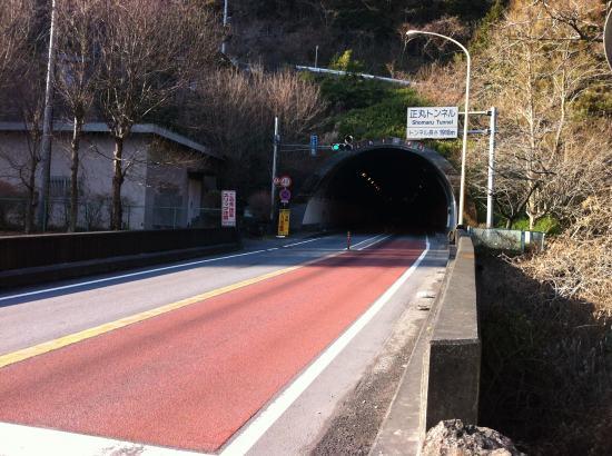 正丸トンネル、日高側