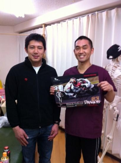 イギリス・スーパーバイク選手権BSBライダー清成龍一選手