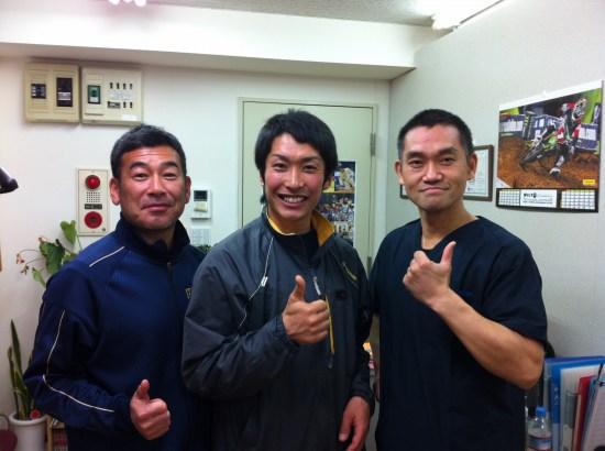 ホンダレーシング・モトクロスライダー小方誠選手