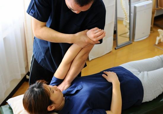 おしだ整体院、肩関節の整体