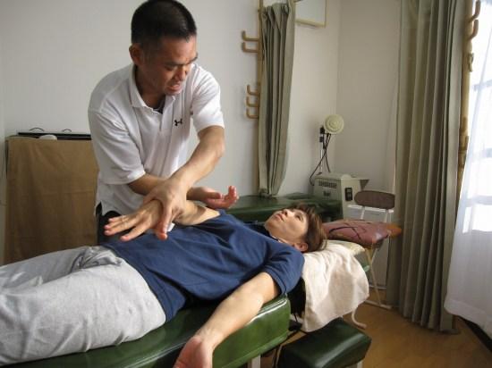 おしだ整体院、肩のPNF運動療法
