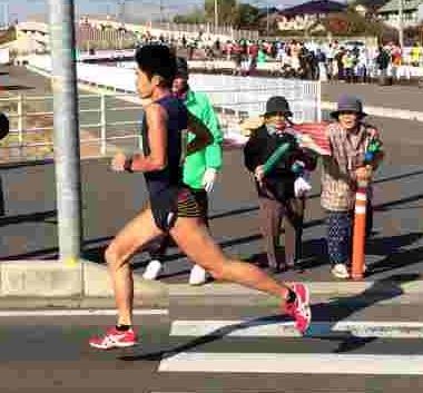 川内優輝選手、2013小江戸川越マラソン