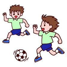 football サッカー、フットボール、イラスト