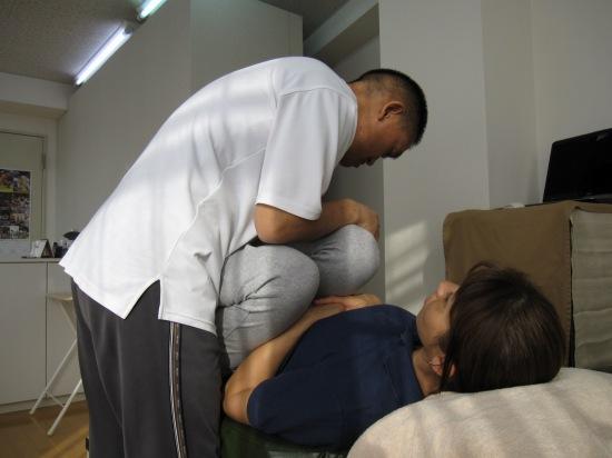 骨盤、腰仙関節の調整