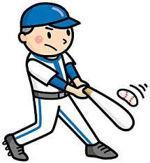 野球、打つ、バッティング