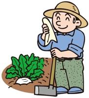 畑仕事、趣味、耕す