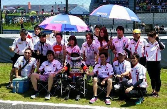 2015鈴鹿8耐Honda QCT明和レーシング