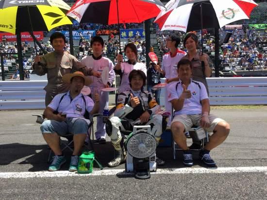 2015鈴鹿8耐Team ホンダ学園