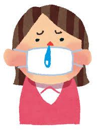 風邪,予防,飛沫,咳,くしゃみ,ウイルス,鼻水,花粉,熱