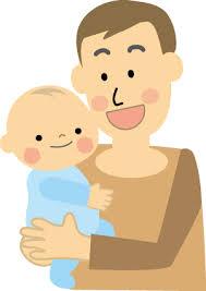 抱っこ,パパ,お父さん,育児