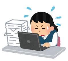 パソコン、デスクワーク、猫背、肩凝り