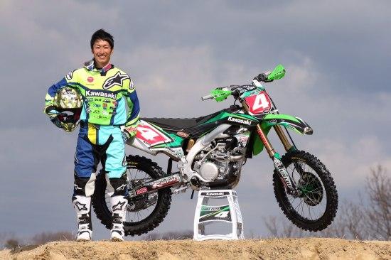 モトクロスライダー小方誠 #4カワサキ ピュアテックレーシング2016