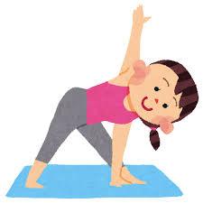 ヨガ、ピラティス、ケア体操、体幹トレーニング