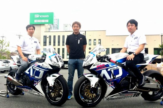 2016 鈴鹿8耐 ミストレーサ Mistresa with ATS