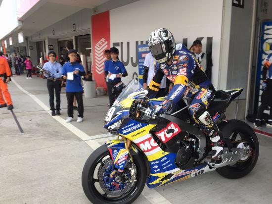 清成龍一#23 MORIWAKI RACING ホンダ JSB1000 レーシングライダー 2018