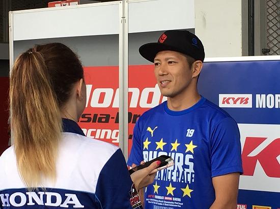 清成龍一#23 KYB MORIWAKI RACING ホンダ JSB1000 レーシングライダー 2018