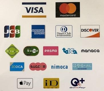 支払い,クレジットカード,交通系電子マネー,ApplePay,iD,QUICpay,d払い