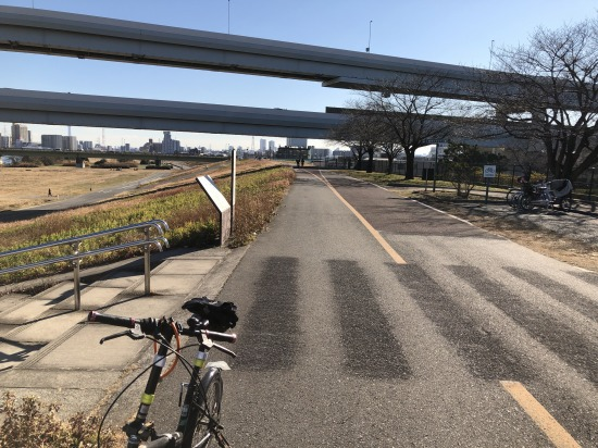 荒川サイクリングロード,五色桜大橋,C2,豊島区,首都高速道路